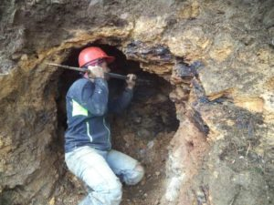 Minería ilegal en Imbabura