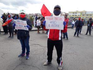 Operaciones mineras en riesgo mientras miles protestan por medidas de austeridad