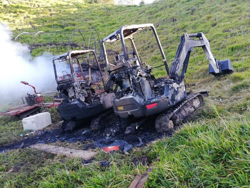 Rinehart mining camp burnt in Ecuador