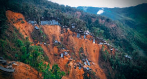 Illegal mining in Buenos Aires, Ecuador